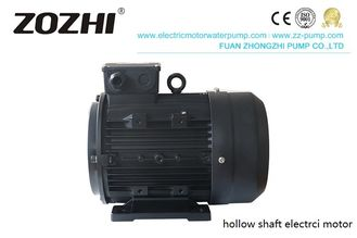 Three Phase Hollow Shaft AC Motor 7.5hp 1450Rpm Aluminum For Cleaning Machine